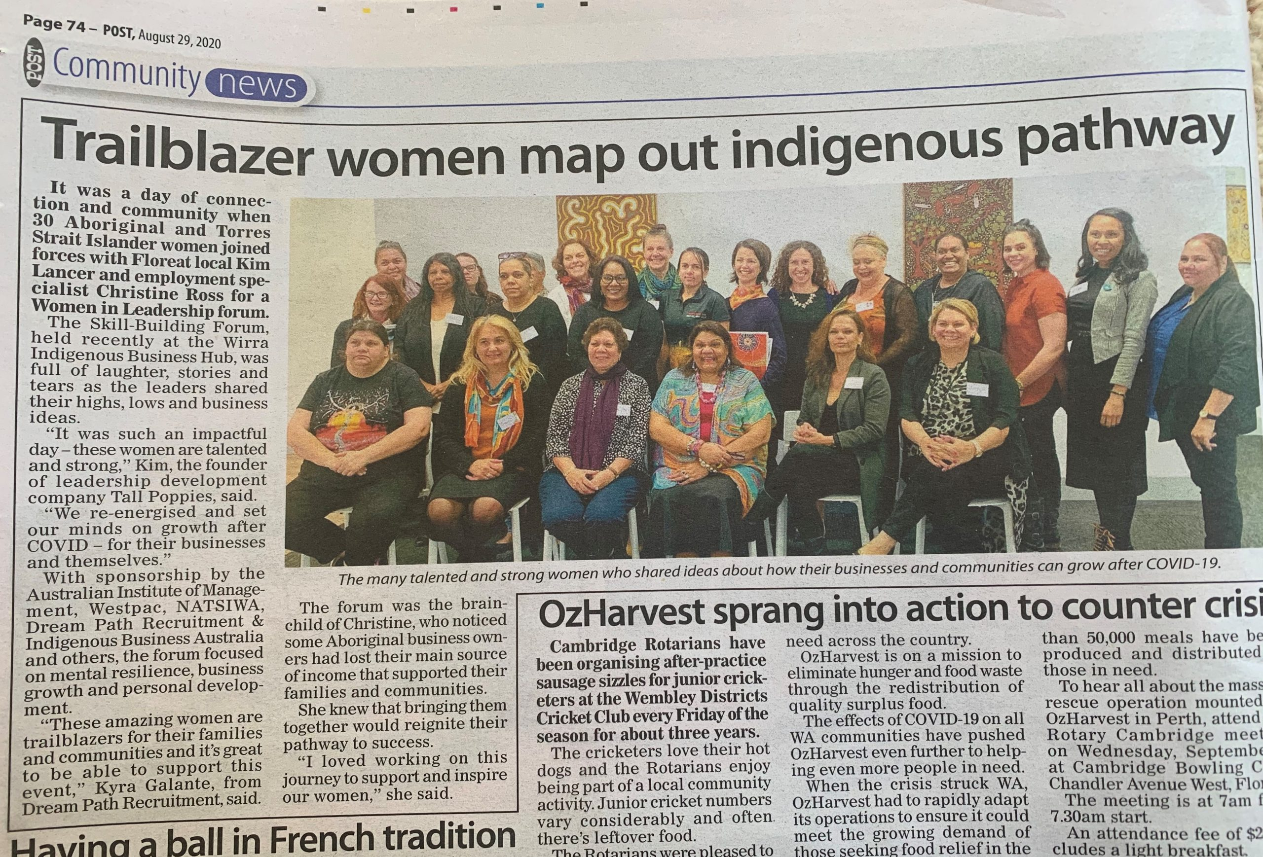 Aboriginal Women in Business Community News